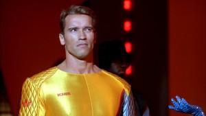 Arnold v celé své žluté kráse.