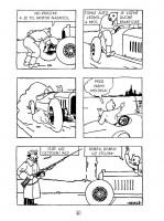 Ukázka z českého vydání komiksu Tintin v zemi Sovětů.