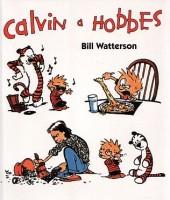 Jedna z obálek českého vydání stripů Calvin a Hobbes.