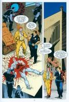 Ukázka z českého vydání komiksu Terminátor Omnibus 1.