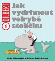 Obálka českého vydání stripů Dilbert.