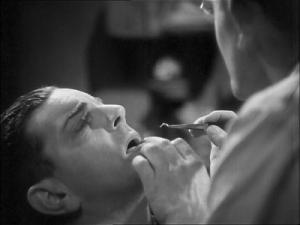 Že by vyšetření zubů?