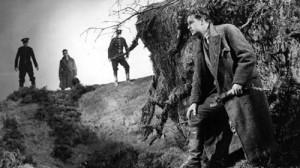 Muž na útěku je Hitchcockův častý motiv.