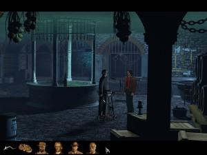 ... temné hradní sklepení...