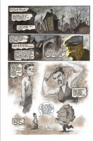 Ukázka z českého vydání komiksu Goon: Mé vražedné dětství.