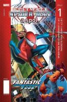 Obálka českého vydání komiksu Ultimate Spider-Man: Moc a odpovědnost.