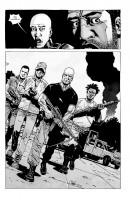 Ukázka z českého vydání komiksu Živí mrtví: Ticho před bouří.