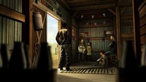 Ukázka ze hry The Walking Dead.