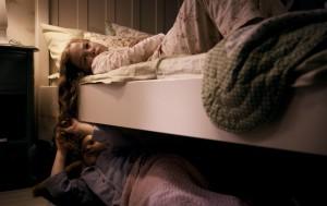 Sestry nespí úplně spolu.