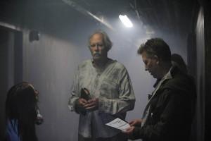 Bruce Dern ve své roli při natáčení.