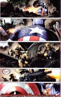 Ukázka z komiksu Ultimátní komiksový komplet 36: Avengers - Rozpad.