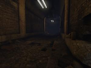 Podzemní chodby nevypadají nijak lákavě, obzvlášť když vám někdo funí za zády.