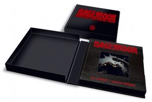 Ručně vyrobené pouzdro knihy Ragemoor.