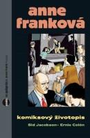 Obálka komiksu Anne Franková: Komiksový životopis.