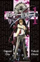 Obálka českého vydání mangy Death Note: Zápisník smrti 1.