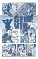 Ukázka z českého vydání komiksu DMZ: Skrytá válka.