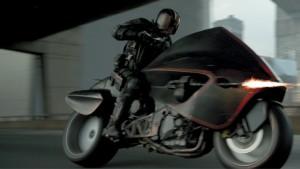 Co by byl Dredd bez motorky.