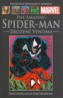 Obálka komiksu Ultimátní komiksový komplet: Amazing Spider-Man - Zrození Venoma.
