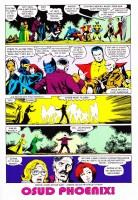 Ukázka z komiksu Ultimátní komiksový komplet: Uncanny X-Men - Dark Phoenix.