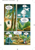 ukázka z komiksu Usagi Yojimbo: Yokai.