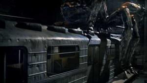 Nevítaný pasažér v metru.