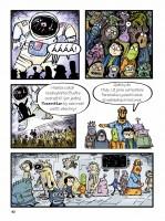 Ukázka z komiksu Pozemšťan!