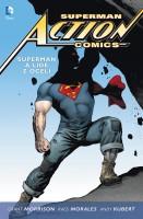 Obálka komiksu Superman Action Comics: Supermana lidé z oceli.