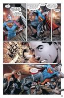 Ukázka z komiksu Superman Action Comics: Supermana lidé z oceli.