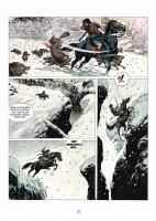 Ukázka z knihy Thorgal: Zrazená čarodějka.