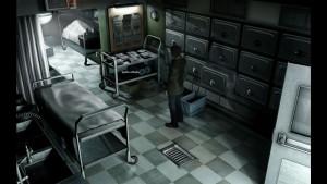 Oblíbená lokace hororových her - márnice.