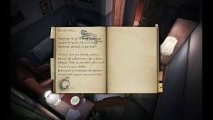 Darrenův deník jako opravdová kniha s poznámkami a kresbičkami.