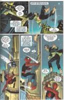 Ukázka z komiksu Spider-Man: Návrat.