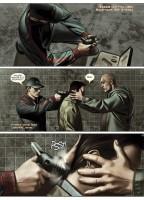 Ukázka z komiksu Iron Man: Extremis.