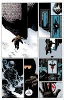 Ukázka z komiksu Hellboy: Probuzení ďábla.