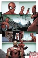 Ukázka z komiksu The Invincible Iron Man: Pět nočních můr.