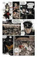 Ukázka z komiksu Vrána: Soumrak bohů.