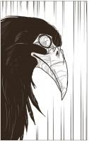 Ukázka z komiksu Návrat do údolí stínů.
