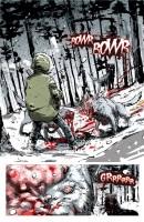 Ukázka z komiksu Rebel Blood.