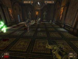 Masakr v klášteře.