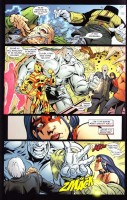 Ukázka z komiksu She-Hulk: Svobodná, úspěšná, zelená.