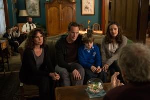 Celá rodina pěkně pohromadě. I s hosty.