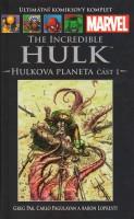 Obálka komiksu Hulkova planeta, část 1.