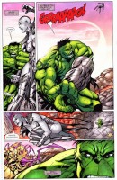 Ukázka z komiksu Hulkova planeta, část 1.