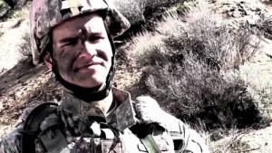 Ještě jeden záběr na vojáka.