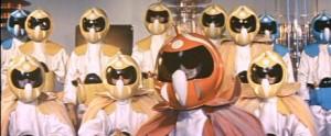 Všichni Power Rangers z celého vesmíru.