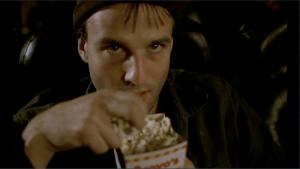 V kině vás napadají různé myšlenky.