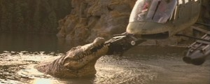 Tenhle krokodýl je mrcha.