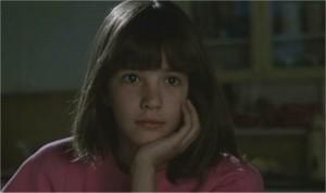 Asia Argento ještě jako dítě školou povinné.