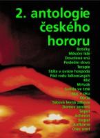 Obálka 2. antologie českého hororu.
