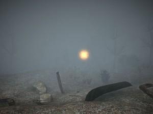 Už ze startovacího místa uvidíte mlhou jen na pár metrů.